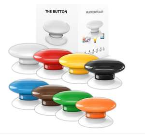 "Fibaro ""The Button"" Z-Wave Funkwandschalter, Panikbutton, Szenenschalter"