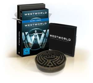 Westworld - Staffel Eins: Das Labyrinth Limited Digibook Edition inkl. Labyrinth Sammlerstück (3 Blu-ray) für 22,29€ (Amazon Prime)