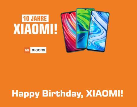 10% Rabatt auf ausgewählte Xiaomi-Smartphones: z.B. Note 9 64GB - 129,50€ | Mi Note 10 Lite 128Gb - 273,47€ | Redmi Note 8T - 133,10€ u.a.