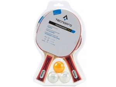 Tecnopro Tischtennisschläger Set inkl Bälle 5€ + Versand 4,90€
