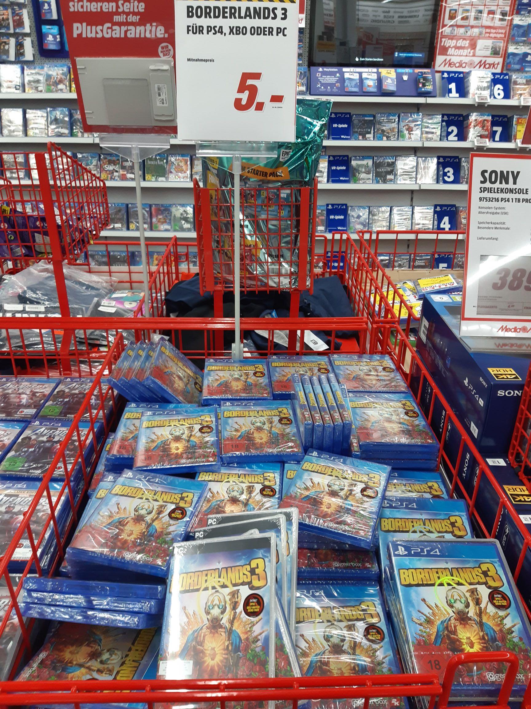 [Lokal Spaden] Mediamarkt Borderlands 3(PS4/XB1/PC)