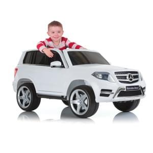 [real.de] Mercedes GLK 350 Ride On weiß, Hauck Elektro Auto für Kinder