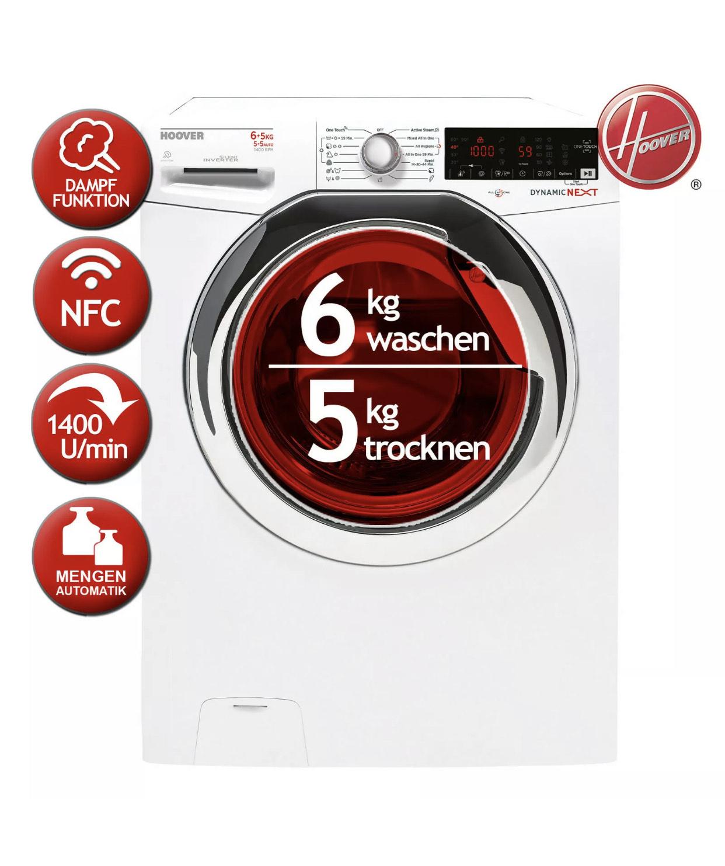 Waschtrockner Waschen6KG/Trocknen 5KG HOOVER