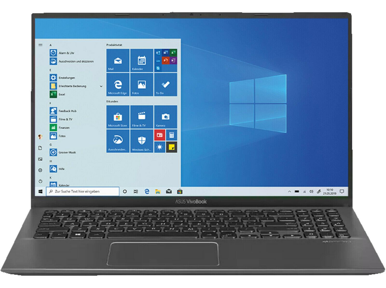 "ASUS VivoBook S15 - 15,6"" FHD Matt, Intel® Core™ i3-1005G1, 8GB DDR4 RAM, 512GB NVMe SSD, Win10 für 350,05€ (eBay)"