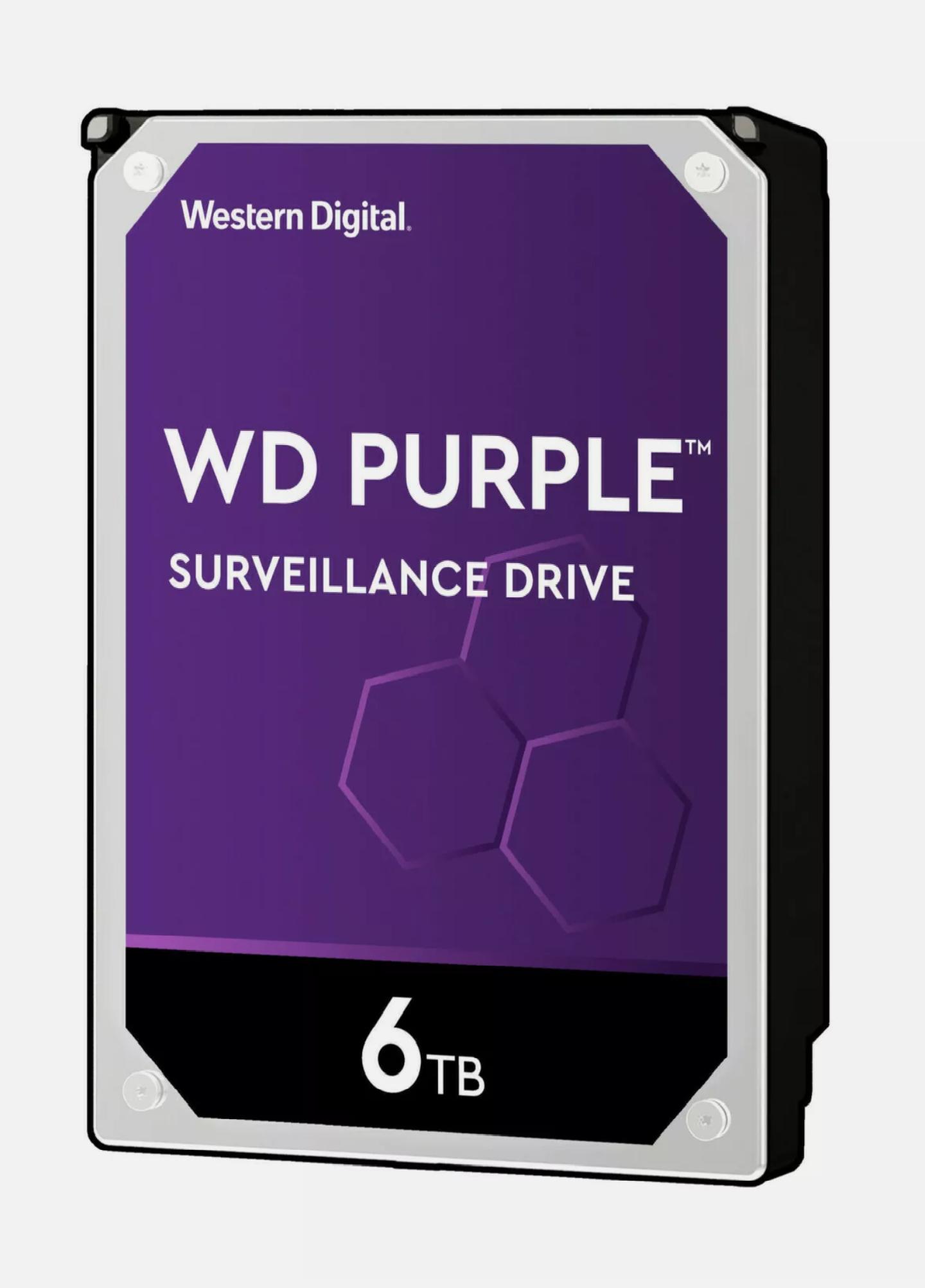 [Saturn/Media Markt @eBay] WD Purple 6 TB Festplatte CMR (WD60PURZ)