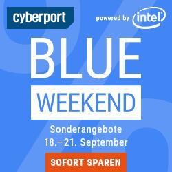 Cyberport Blue Weekend: diverse Angebote für Notebooks, Monitore, NAS-Gehäuse, Lautsprecher, SSDs, Smart Home-Produkte, uvm.