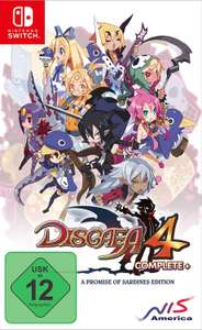 Disgaea 4 Complete+ A Promise of Sardines Edition (Switch) [Amazon Prime]