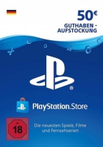 PSN Store 50€ Gutscheincode