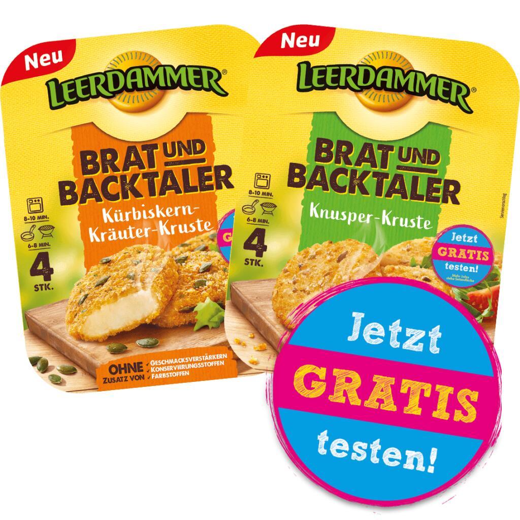 [GzG] Kostenlos testen 100% Cashback auf Leerdammer Brat- und Backtaler (Aktionspackung) - ab 21.09.