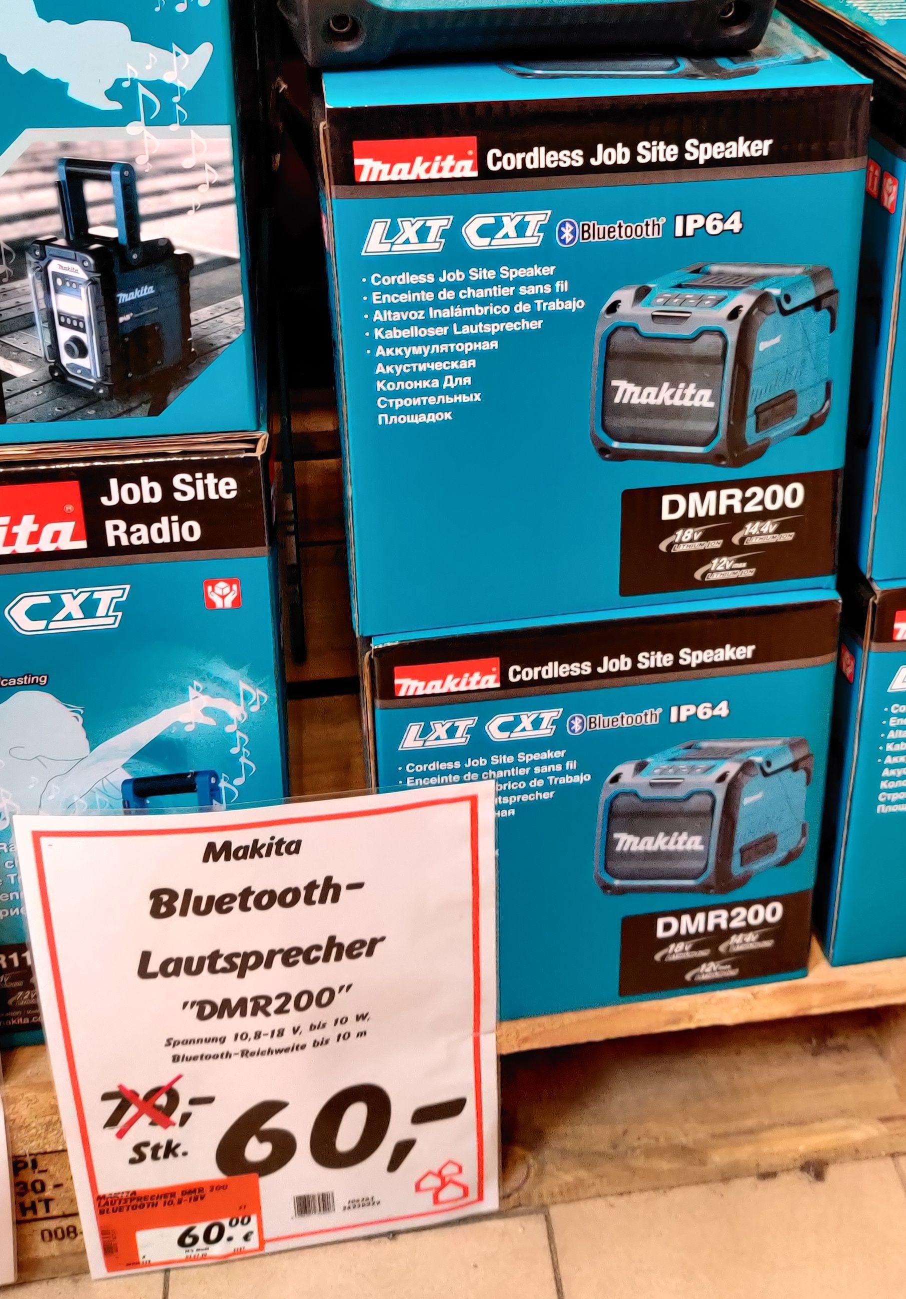 (Lokal Bauhaus Hanau) Makita DMR200 Bluetooth Lautsprecher BT Akku