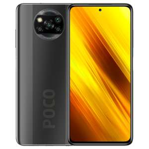 "Xiaomi Poco X3 64/6GB (Snapdragon 732G, 6.67"" 120Hz Display, 5130mAh Akku, 64MP Quad Kamera, NFC: Google Pay)"