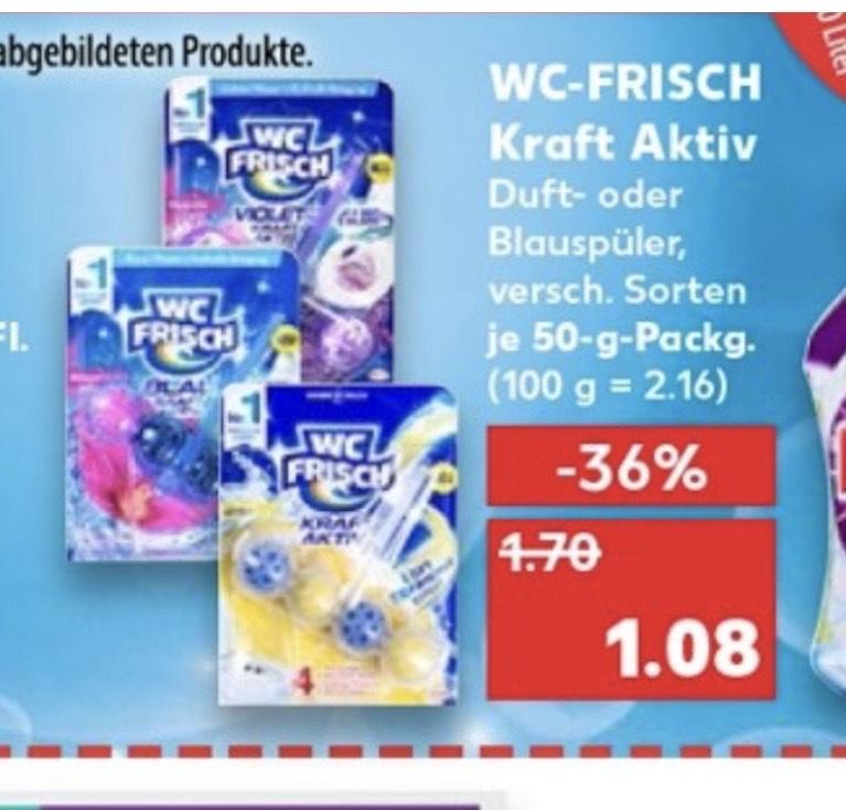 [Kaufland] WC Frisch Kraft Aktiv 1er- Pack für 0,58€