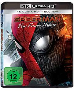 Spider-Man: Far From Home 4K (4K UHD + Blu-ray) für 17,33€ (Amazon Prime)