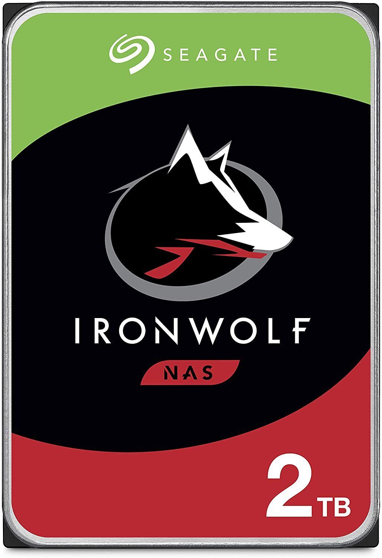 "Seagate IronWolf 2TB HDD - interne NAS Festplatte (3,5"", 5900 U/Min, CMR, 64 MB Cache, SATA 6 GB/s)"
