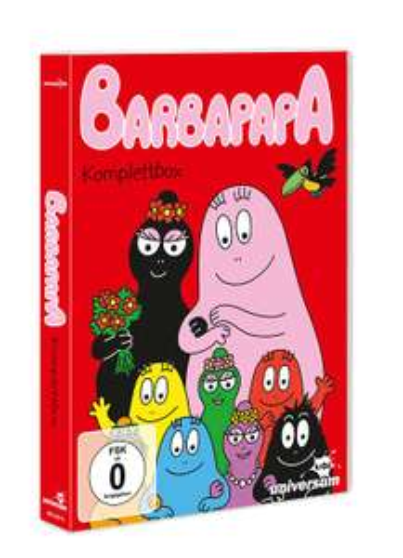 Barbapapa - Komplettbox 6 DVDs [Dodax Ebay/Amazon Prime]