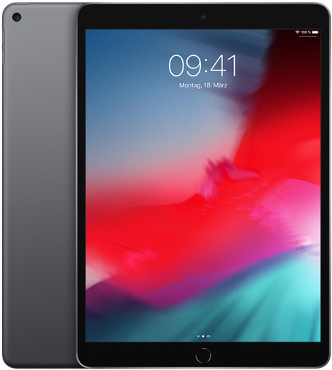Apple iPad Air 10.5 WiFi - 256GB, Space Gray, 2019 - 529,90€ | iPad Air 3 256GB, LTE, Space Gray - 629,90€ | Air 3 64GB LTE 499,90€