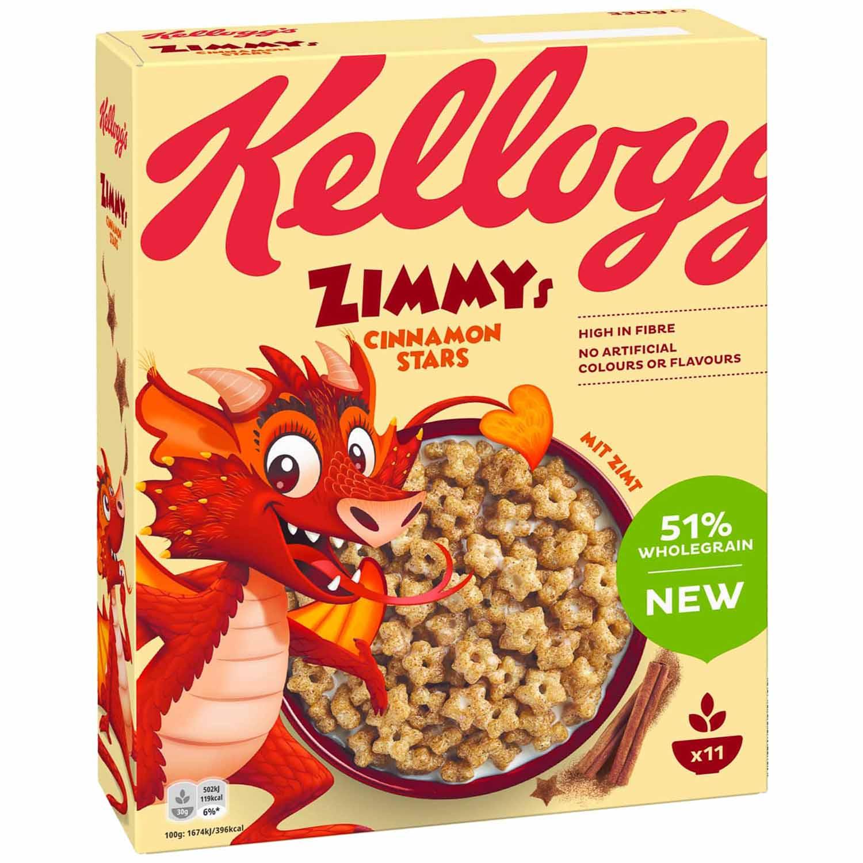 Kellogg's Zimmys Coupon (beim Kauf einer Packung 1,50€ sparen)