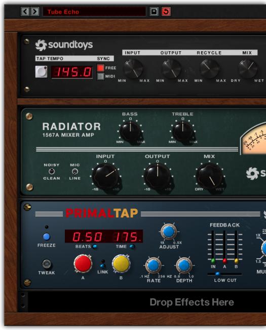 [VST / Musikinstrument / Software /DAW] Soundtoys Effects Rack im Flashsale für kurze Zeit