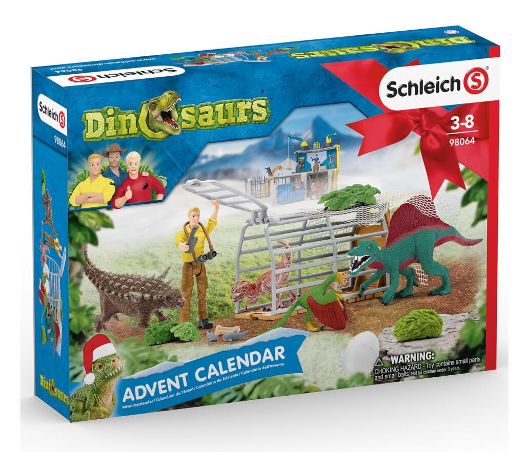 Schleich 2020er Adventskalender für je 21,99€: Horse Club // Dinos // Farm World