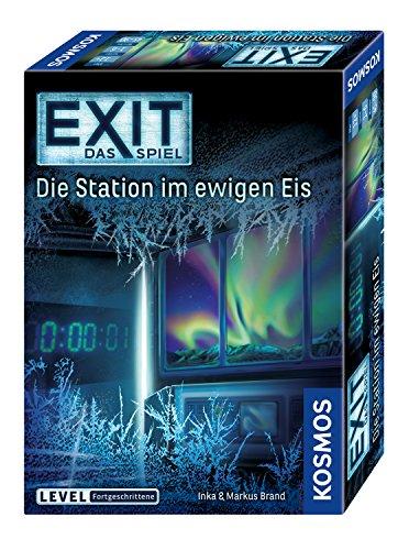 KOSMOS - EXIT - Das Spiel, Die Station im ewigen Eis, Level: Fortgeschrittene, Escape Room Spiel für 6,86€ (Amazon Prime)