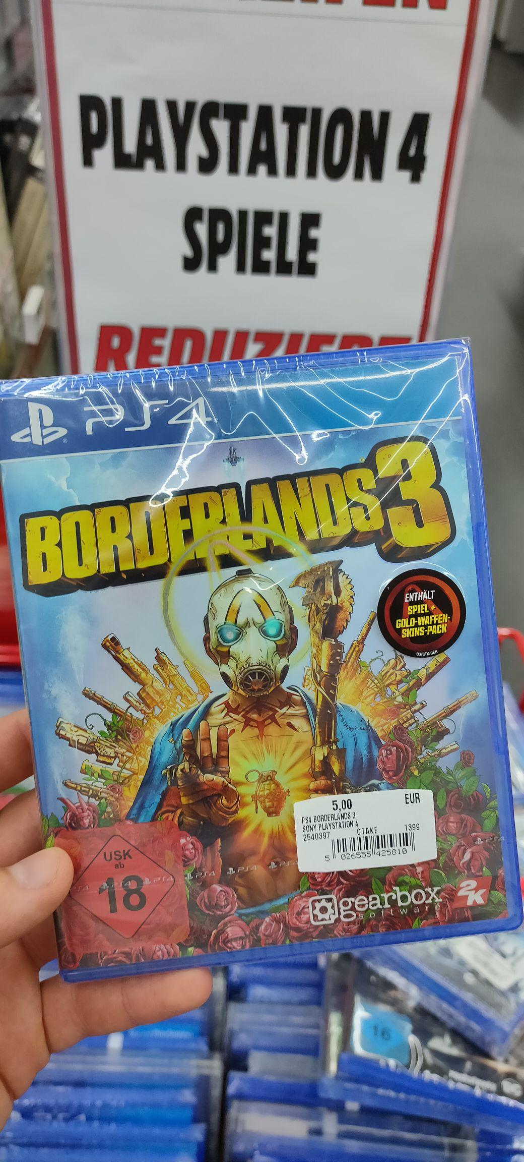 Lokal - PS4 Borderlands 3 Mediamarkt Chorweiler Köln für 5€