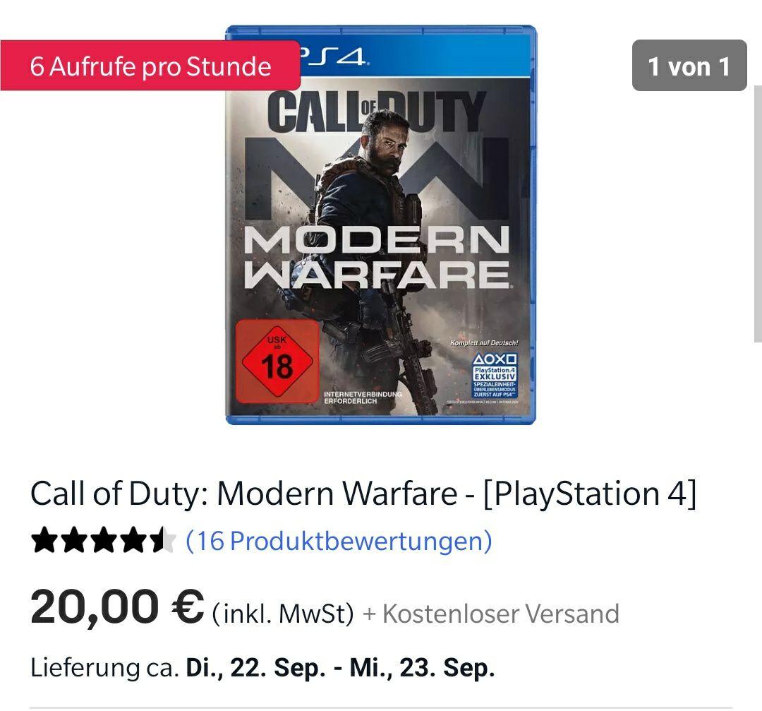 [Ebay] PS4 Sammel Deal - Diverse PS4/Xbox Titel ab 10€