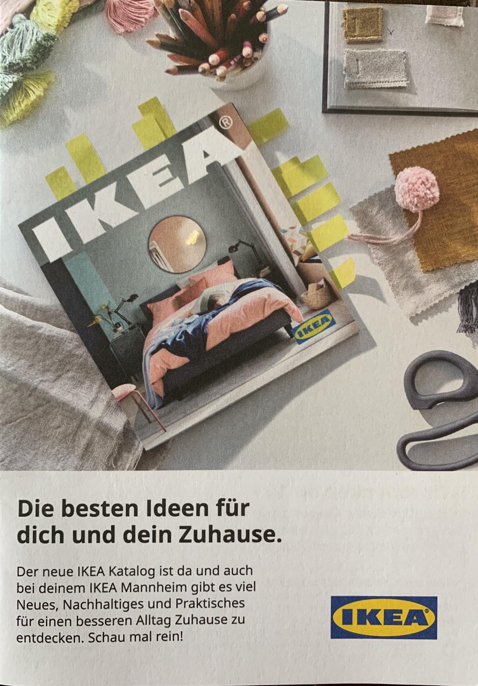 IKEA Mannheim lokal Gutscheinheft