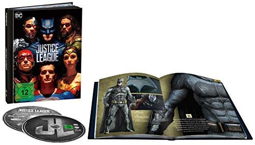 Justice League als Digibook (Limited Edition) (4K Ultra HD + 2D Blu-ray) für 14,90 € (Amazon)
