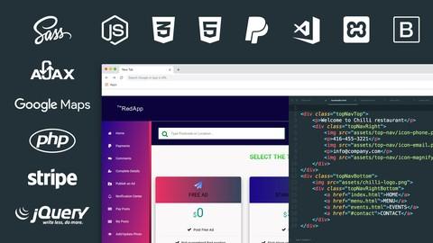 (399 Vorträge • 82h 6m) Ultimate PHP, Laravel, CSS & Sass - Udemy