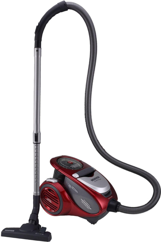 Hoover XP81 XP25011 Bodenstaubsauger mit HEPA Filter und Airvolution™ Multizyklontechnologie, beutellos, allergikerfreundlich - Rot [Ao.de]