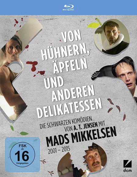 Von Hühnern, Äpfeln und anderen Delikatessen - Die schwarzen Komödien von A.T. Jensen mit Mads Mikkelsen (Blu-ray) für 17,12€ (Bücher.de)