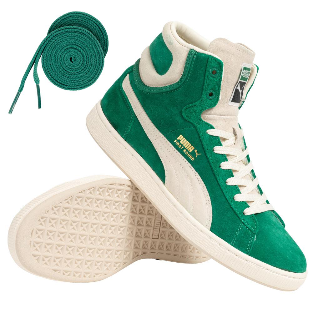 """PUMA Leder-Sneaker """"First Round Suede"""" für 22,22€ +3,95€ VSK (Größe 37 - 40.5) [SportSpar]"""