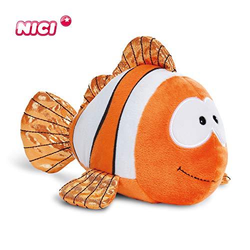 NICI Kuscheltier Clownfisch Claus-Fisch 23 cm Flauschiges Stofftier zum Kuscheln, Spielen & Schlafen für 11,80€ (Amazon Prime & eBay)