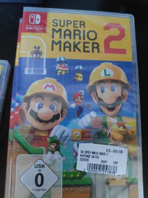 [lokal] [Media Markt Sinsheim] - Mario maker 2 Nintendo switch