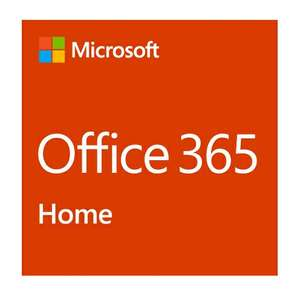 Microsoft Office-Software Office 2019, PKC, 365 Home Abonnement, 6 User