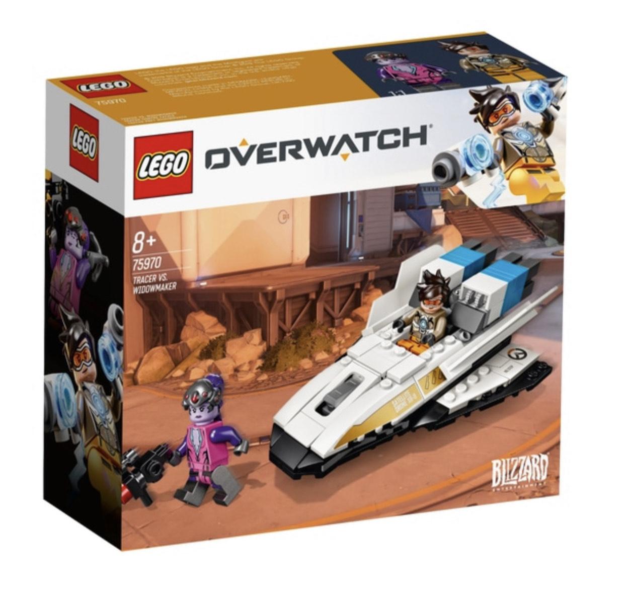Lego 75970 Overwatch Tracer vs Widowmaker Smythstoys Ladenlokal