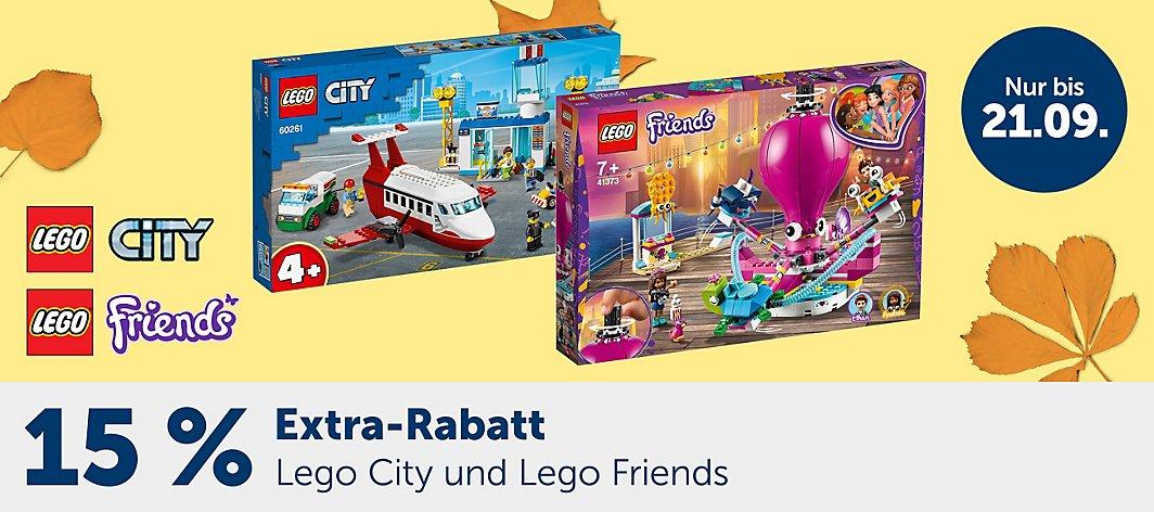 LEGO City Sammeldeal - myToys z.B. Lego Güterzug 60198 für 123,79 statt 133,97