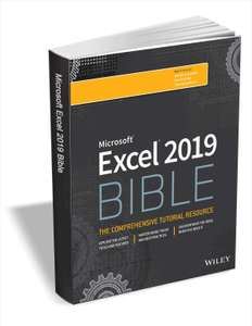[English] [PDF] Excel 2019 Bible ($35.99 Value) FREE for a Limited Time [eBook]