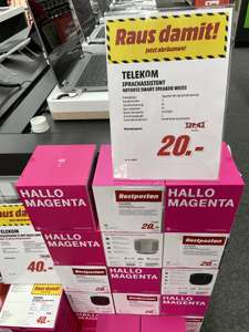 Lokal MEDIA MARKT in EMMENDINGEN - Telekom Smart Speaker in schwarz und weiss