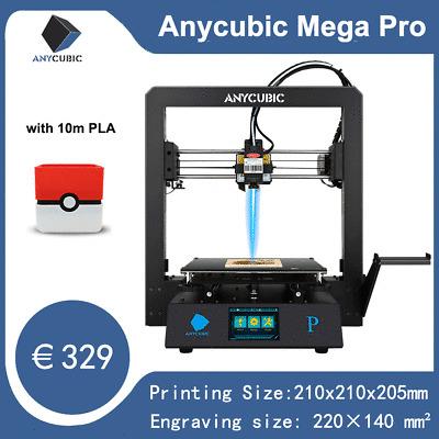 ANYCUBIC Mega Pro 2-in-1 3D Drucker Lasergravur