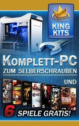 CaseKing - PC Bundles zum Selberschrauben + 6 Games kostenlos!!