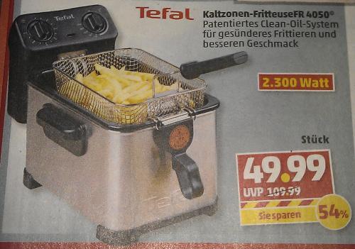 [Penny bundesweit] Kaltzonen-Fritteuse Tefal FR 4050 (ab 31.01.2013)