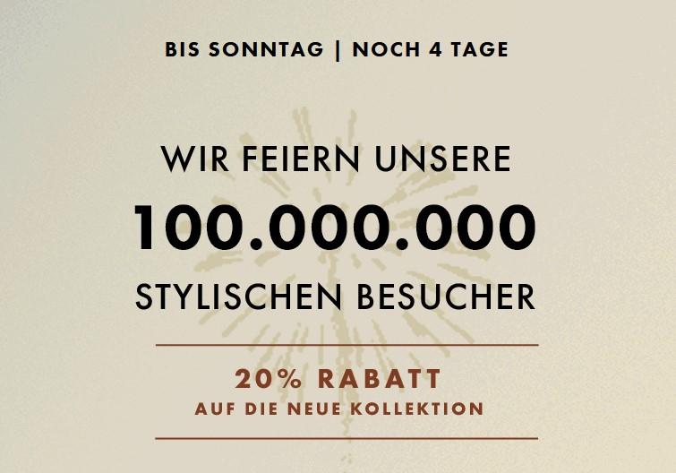 WE Fashion Mode 20% auf Neue Kollektion + zusätzlich 50% Rabatt auf 2.Damen Jeans - 2.Herren Jeans/Chino/Hemd - 2.Jungen Jeans