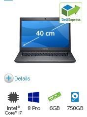Dell Vostro 3560-Core i7-3632QM-Windows 8 Pro-Full HD-Radeon HD 7670 1 GB-6GB Ram für 619€ @Dell