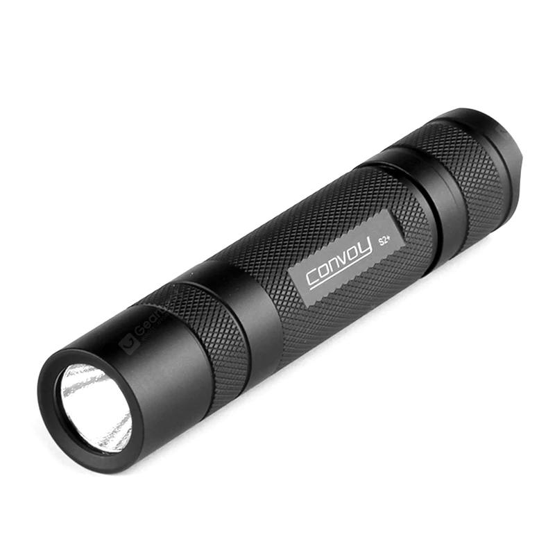 Convoy MK S2+ Nichia UV Taschenlampe (wasserfest, 365nm) für 20,45