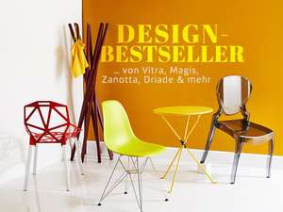 Design-Ikonen von Vitra, Magis, Zanotta ab Montag bei [Westwing], z.B. Hang it all Garderobe von Ray und Charles Eames