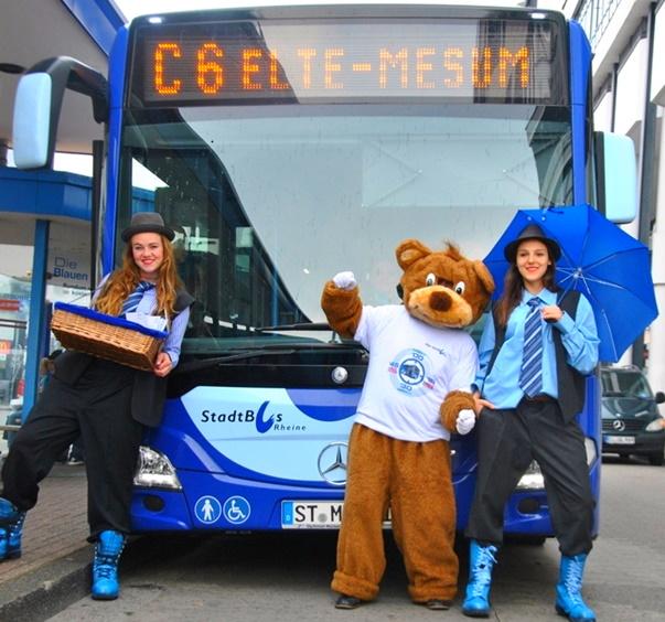 [lokal Rheine] Busse kostenlos nutzen + 2 Stunden gratis parken an 13 Samstagen und 3 Sonntagen