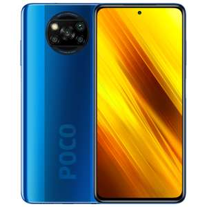 "Xiaomi Poco X3 64/6GB (Snapdragon 732G, 6.67"" 120Hz Display, 5160mAh Akku, 64MP Quad Kamera, NFC: Google Pay)"