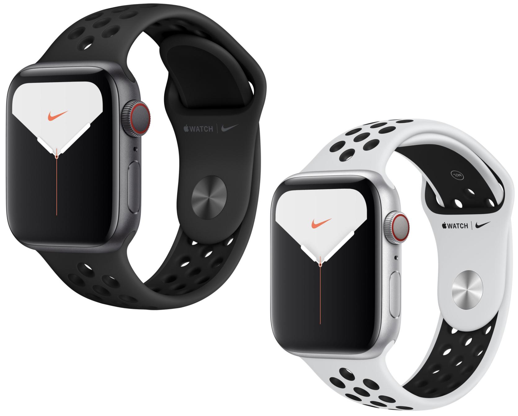 Apple Watch 5 Nike+ 44mm GPS Cellular LTE für 470,39€ (mit Sovendus für 450,39€ möglich!) und weitere 40mm / 44mm Varianten verfügbar