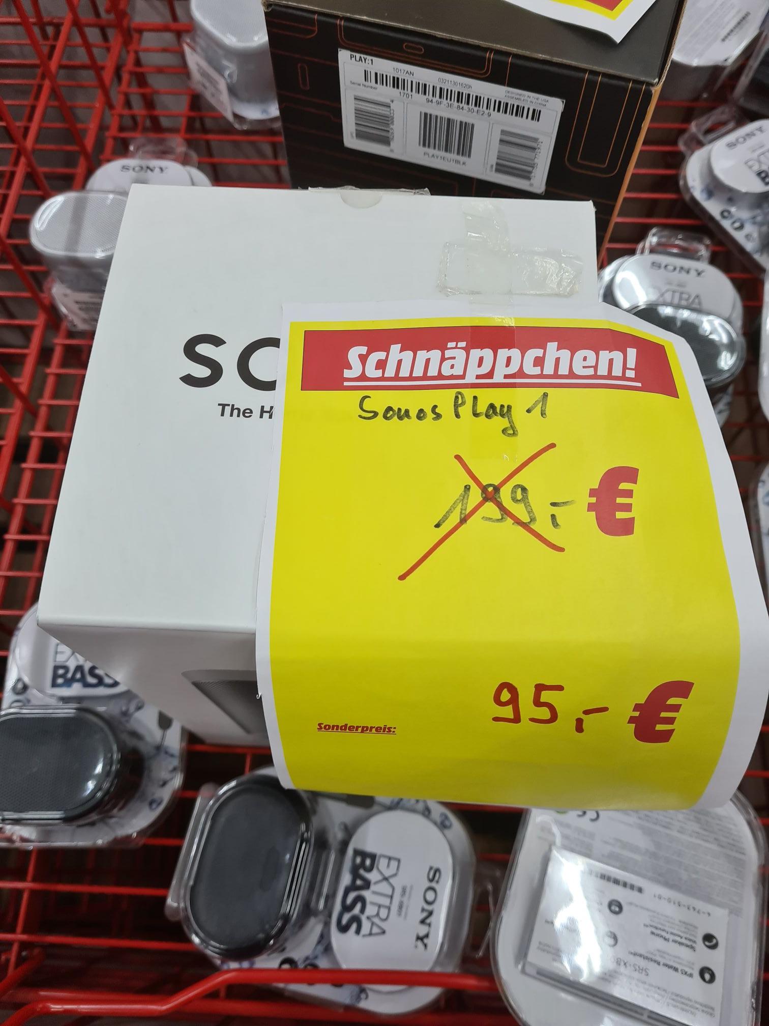 (Lokal MM Saarbrücken) Sonos Play 1 Lautsprecher
